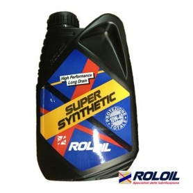 Engine oil 4T synthetic 10W40 car motorcycle RolOil supersynthetic 1Lt