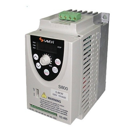 0.75kw Mini Frequency Converter/ Frequency Inverter/ AC Motor Drive S800-S800-2S-0.2G