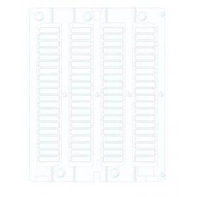 Tessere tubetti L:15mm (Foglio da 80)