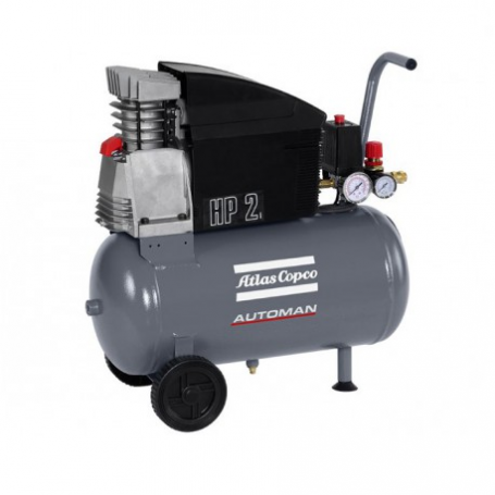 Piston compressor 1,85 KW 4,5 L / S with 24 Liters tank AUTOMAN AF 25