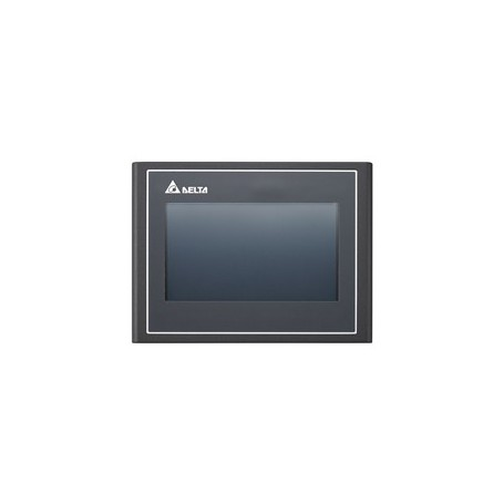 HMI – TFT LCD 7 poll. 16:9 Wide screen, USB Host, Ethernet, FTP/email/VNC/web monitor 512RAM, 256ROM, 2 COM port