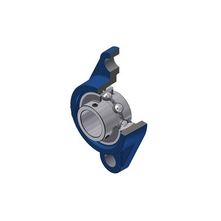 Flanged UCFL205 self-aligning support