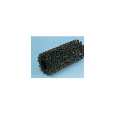 Modular cylindrical horse hair brush