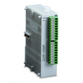 Modulo digitale Delta Serie S DVP16SP11R PLC DI 8 DO 8 rele' DVP16SP11R