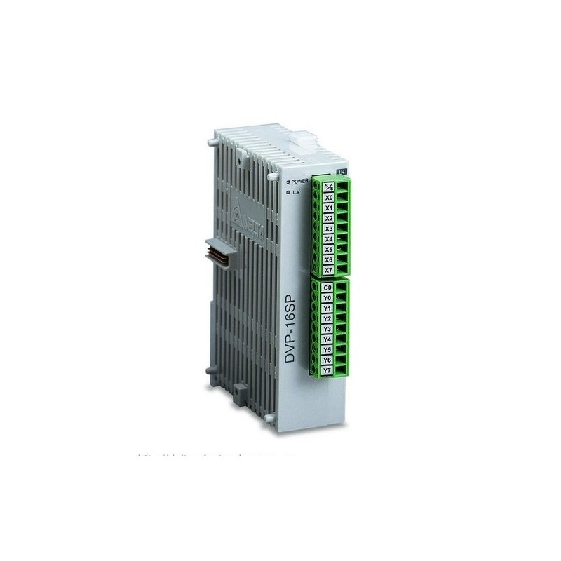 Modulo digitale Delta Serie S DVP16SP11R PLC DI 8 DO 8 relè