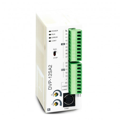 PLC Advanced CPU Relay Outputs Delta DVP12SA211R