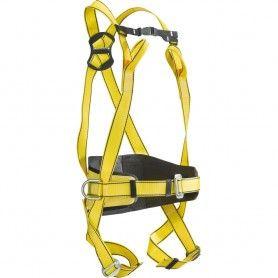 Imbracatura anticaduta con punto di ancoraggio dorsale e sternale. Con cintura di posizionamento - Basic 5