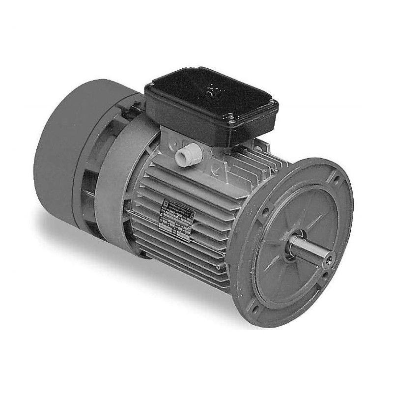 Three-phase self-braking motor 1 HP (0.75 kW) 4 poles Size 80 B5