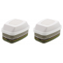 "Pair of filters for 6000 and 7000 series Cod. 6099 ""A2 B2 E2 K2 Hg P3R"" 3M"