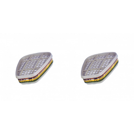 """Paire de filtres pour séries 6000 et 7000 Code 6059 """"A1 B1 E1 K1"""" 3M"""