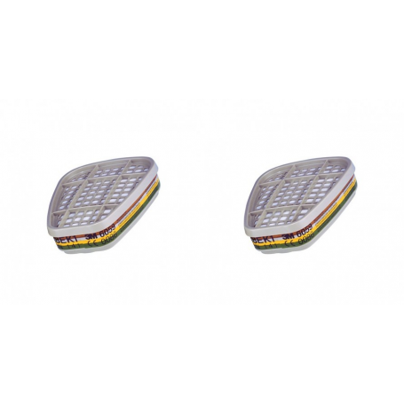 """Pair of filters for 6000 and 7000 series Cod. 6059 """"A1 B1 E1 K1"""" 3M"""