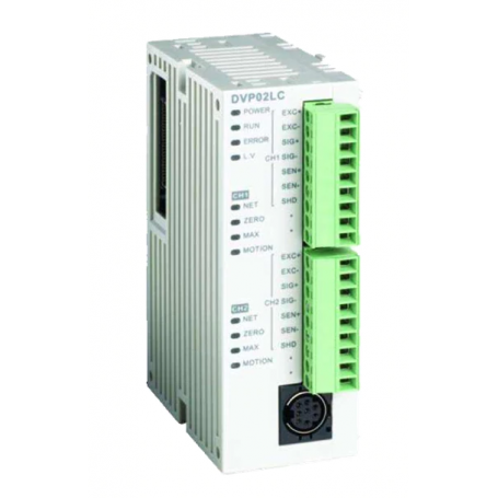 High speed expansion load cell module for PLC SA / SE / SX / SV dual channel
