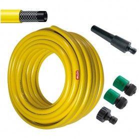 "1/2"" water hose 15 meters + Valex nozzle set"