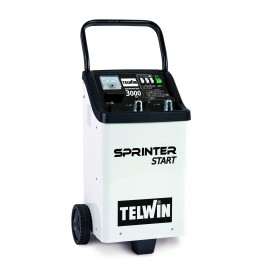 Starter Battery Charger Telwin Sprinter 3000 Start 230V 12-24V cod. 829390
