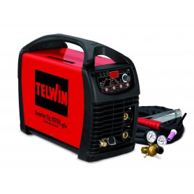 Saldatrice Inverter TIG, TIG PULSATO, MMA Telwin Superior 252 AC/DC 816117
