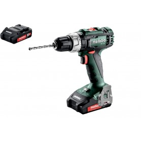 SB 18 L Impact drill driver + 3 batteries 2.0 Ah Metabo