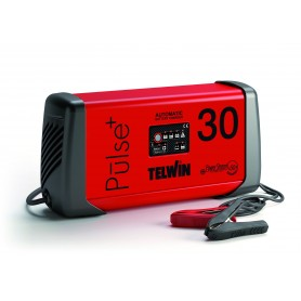Caricabatterie elettronico automatico 6/12/24V Telwin Pulse 30 cod. 807587