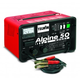 Caricabatterie Telwin Alpine 50 BOOST 230V 12-24V cod. 807548