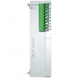 DVP08SM11N | Delta | DVP Slim Digital I/O Extension Unit