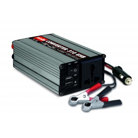 Caricabatterie Telwin Converter 310 USB 12 VDC - 230 VAC Potenza Max 600W cod. 829444