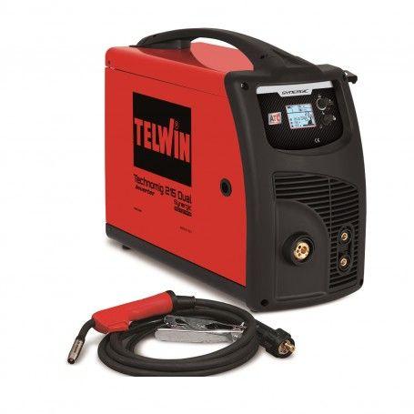 Telwin Technomig Inverter Welding Machine 215 Dual Synergic