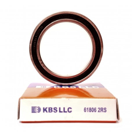 Kugellager (Rahmen für Fahrradlenkräder) 35x47x7 61807-2RS KBS LLC