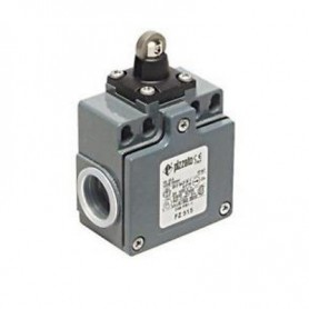 Adjustable lever limit switch R 34-93mm, plastic roller Ø20mm Pizzato FM 555